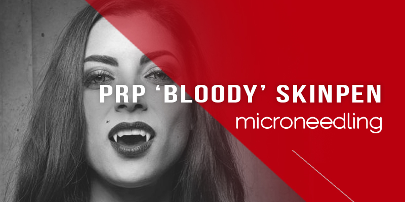 PRP Bloody SkinPen Treatments