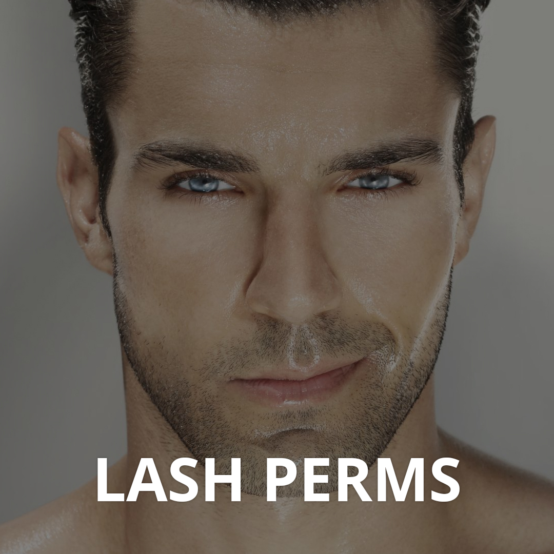 Male lash Perms